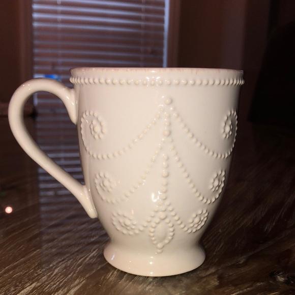 Lenox French Perle coffee mugs -set of 4